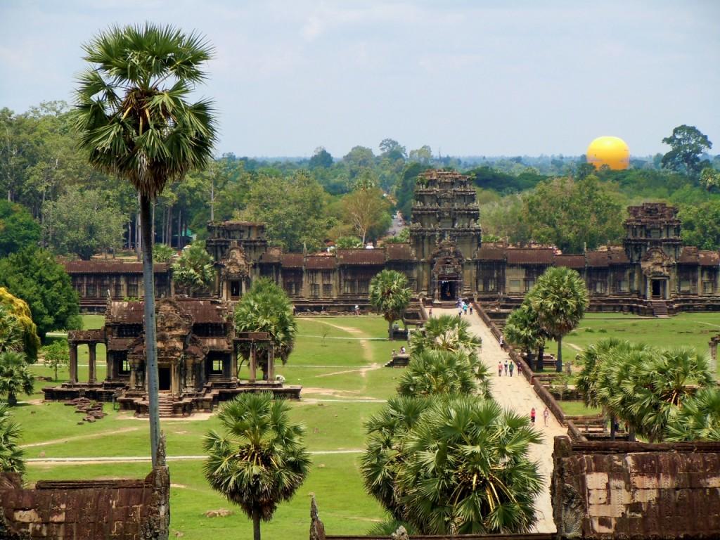 Het paleis van Ankor Wat is echt ongelooflijk mooi. In de hoogtijdagen woondn hier wel een miljoen mensen. Op dat moment had Londen slechts 50.000 inwoners.