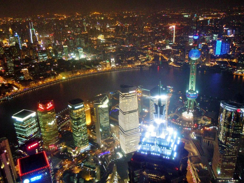 En een fotootje vanaf het hoogste gebouw.